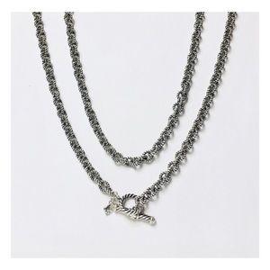 David Yurman Cable Rolo Chain Necklace